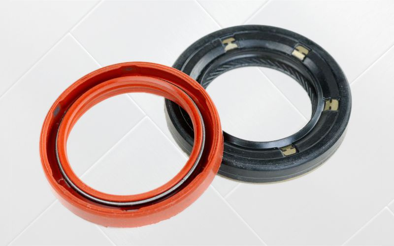 metal to rubber bonded seals
